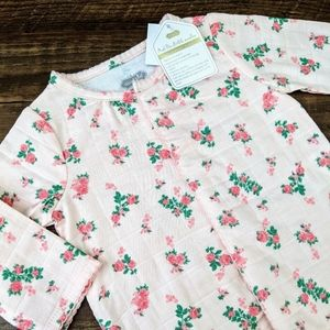 NWT Mud Pie Pink Floral Gown